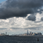 Jersey City & Manhattan - Staten Island Ferry, New York, NY, USA - August 19, 2015