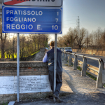 Scandiano City Limits - Scandiano, Reggio Emilia, Italy - March 20, 2011