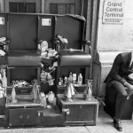 Shoeshine Stand - New York, NY, USA - August 18, 2015
