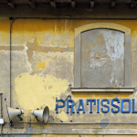 Pratissolo Train Station - Scandiano, Reggio Emilia, Italy - October 24, 2010