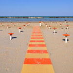 Beach - Bellaria-Igea Marina, Rimini, Italy - April 17, 2011