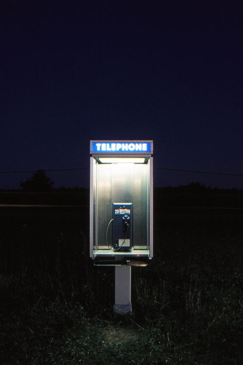 Telephone - Somewhere North of Barrie, Ontario, Canada - November 1986