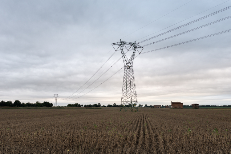 Power Lines - Crevalcore, Bologna, Italy - August 26, 2015