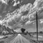 Country Road - Sant'Agata Bolognese, Bologna, Italy - August 31, 2012