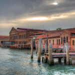 Almost Sunset - Murano, Venice, Italy - April 18, 2014