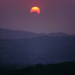 Partial Eclipse of the Sun - Montericco, Albinea, Reggio Emilia, Italy - May 1994