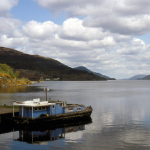 Loch Ness - Fort Augustus, Scotland, UK - May 31, 1989