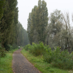 Po River Trail - Boretto, Reggio Emilia, Italy - October 8, 2014