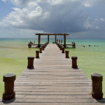 Pier - Playa del Carmen, Mexico - August 15, 2014