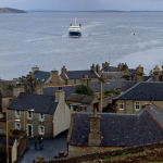 Ferry - Stromness, Orkney, Scotland, UK - June 1, 1989